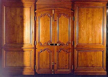 Reproduction Antique Wood Paneling Boiserie Christian